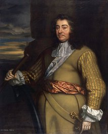 George Monck, 1st Duke of Albemarle , part of the Flagmen of Lowestoft series from the studio of Sir Peter Lely, painted 1665–1666